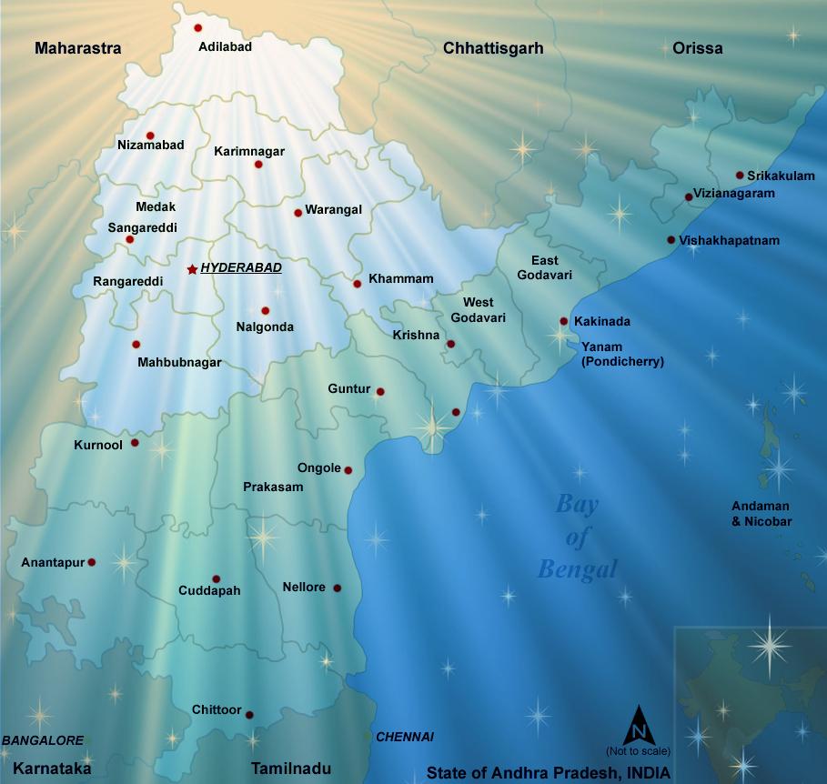 Telengana_map
