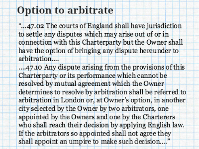 OptiontoArbitrate_UnilateralOptionClause_DraftingforArbitration