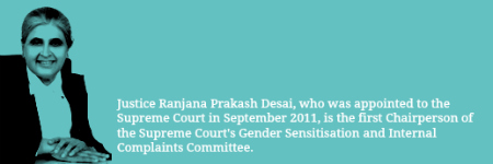 JusticeRanjanaDesai_SupremeCourt_SexualHarrassmentComplaintsCommittee