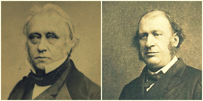 Indian colonial laws authored by people like Thomas Babington Macaulay (left) and James Fitzjames Stephen (right) continue to benefit from the presumption of constitutionality.