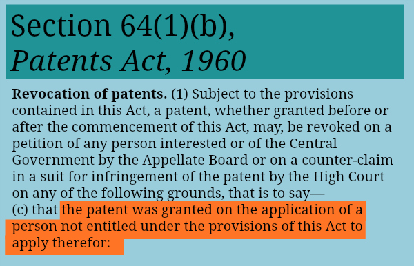 Section64(1)(b)_Revocationofpatent_entitled