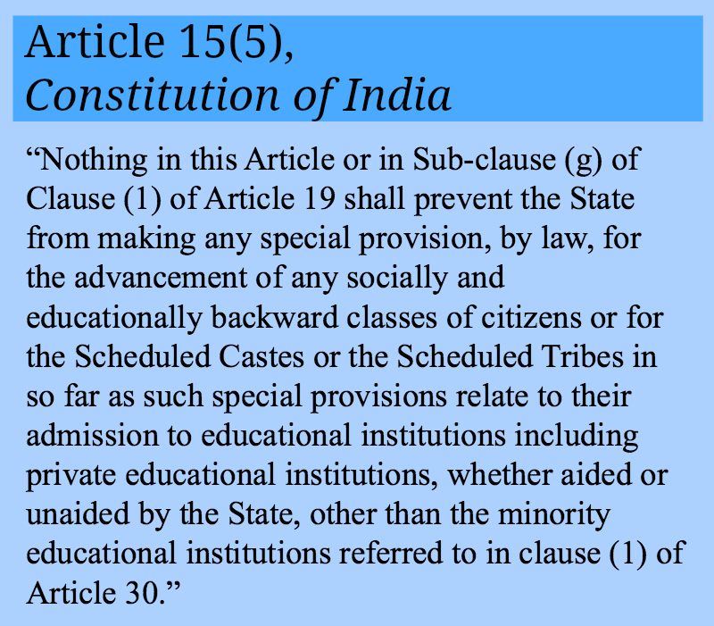 article 15 cosmetic indienne