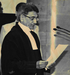 Chief Justice of India, Justice Rajendra Mal Lodha. Image is from the Press Information Bureau.