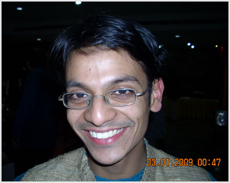 Aditya Sudarshan, author of A Nice Quite Holiday
