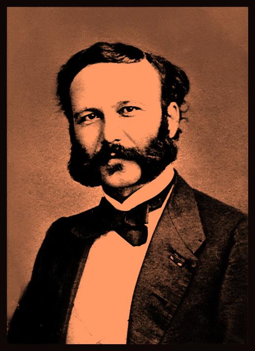 Henry Dunant, a gentleman of Geneva.