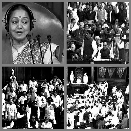 Lok Sabha Obstruction Speaker, Meira Kumar