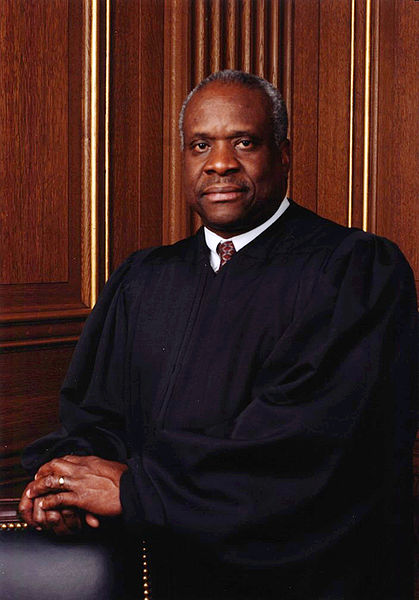Official portrait of Justice Clarence Thomas