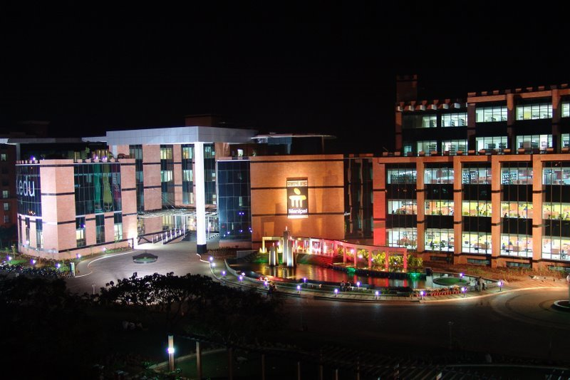 The Kasturba Medical College (above), located in Manipal in Udupi district in Karnataka, was established in 1953 by T.M.A. Pai and is among the premier medical colleges in India today.