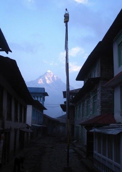 At Lukla village